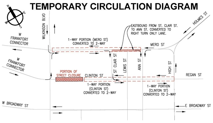 Frankfort Temp Circ Map - Capital Plaza destruction.png